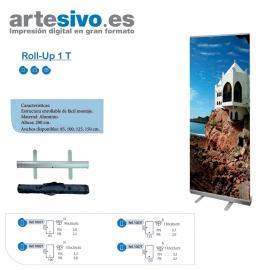 ROLL UPS / ENROLLABLES ECONÓMICOS PARA PROMOCIÓN ANCHOS: 85 CM - 100CM - 125 CM - 150 CM