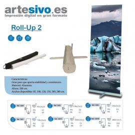 ROLL UPS / ENROLLABLES GRAN PESO QUE APORTA MUCHA ESTABILIDAD - ANCHOS: 85 CM - 100 CM - 125 CM - 150 CM - 200 CM - 280 CM