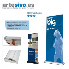 "ROLL UPS / ENROLLABLES LUXE"" ANCHOS: 85 CM - 100 CM"""