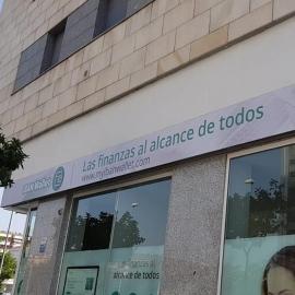RÓTULO COMPLETO CON FRONTAL FLEXIBLE EN LONA BACKLITE RETROILUMINADA